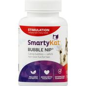 SmartyKat Catnip Bubbles, Stimulation