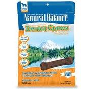 Natural Balance Pumpkin & Chicken Meal Formula With Papaya Dental Chews