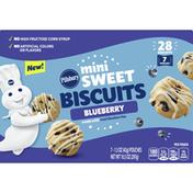 Pillsbury Biscuits, Blueberry, Mini Sweet, 7 Pack