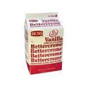Rich's Vanilla Artificial Flavor Butter Cream Icing & Filling
