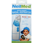 NeilMed Nasal Aspirator, Battery Operated, Babies & Kids