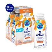 Nestle Pure Life + active with Potassium (orange flavor)
