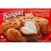 Banquet Chicken, Crispy, Variety Pack