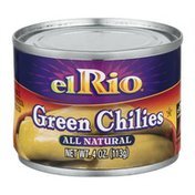 El Rio All Natural Green Chilies