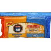 Finlandia Cheese, Deli Slices, Monterey Jack/Colby Jack