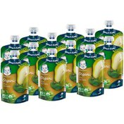 Gerber 2nd Foods Organic Pear Spinach Baby Food