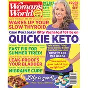 Woman's World Magazine, Grill Up Fun, July 26, 2021