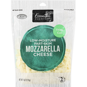 Essential Everyday Cheese, Mozzarella, Thick Cut