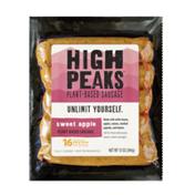 High Peaks Sweet Apple Plant-based Sausage