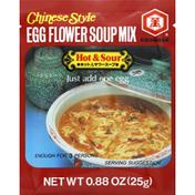 Kikkoman Soup Mix, Chinese Style Egg Flower, Hot & Sour