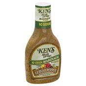 Ken's Steak House Marinade, Sauce , Lemon Pepper, Bottle