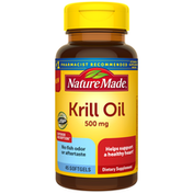 Nature Made Krill Oil 500 mg Softgels