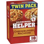 Hamburger Helper Pasta and Cheeseburger Macaroni Sauce Mix