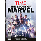 Time Magazine, The Story of Marvel, 07.2021