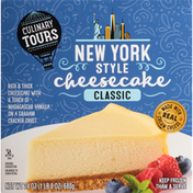 Culinary Tours Classic New York Style Cheesecake