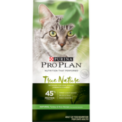 Purina Pro Plan Natural, High Protein Dry Cat Food, TRUE NATURE 45% Protein Formula Natural Turkey & Rice Recipe