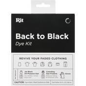Rit Dye Kit, Back to Black