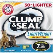 Arm & Hammer Clump & Seal Light Weight Fresh Scent Odor Sealing Cat Litter