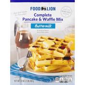 Food Lion Complete Pancake & Waffle Mix, Buttermilk