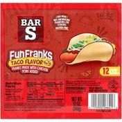 Bar-S Fun Franks Taco Flavor Franks