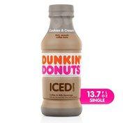 Dunkin' Cookies & Cream Iced Coffee Bottle