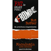 Fbomb Nut Butter, Macadamia with Coconut