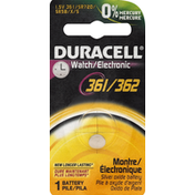 Duracell Battery, Watch/Electronic, 361/362