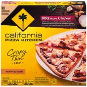 California Pizza Kitchen BBQ Recipe Chicken Crispy Thin Crust Pizza