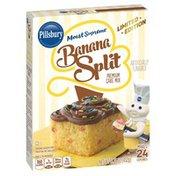 Pillsbury Cake Mix, Premium, Banana Split