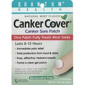 Quantum Canker Sore Patch, 150 mg, Natural Mint Flavor