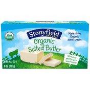 Stonyfield Organic Salted Butter Organic Milk/Cream/Butter
