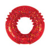 Kong Co. Assorted Medium Squeezz Holiday Confetti Ring Dog Toy