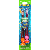 Firefly Toothbrushes, Lightup Timer, Soft
