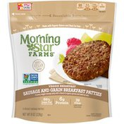 Morning Star Farms Sausage and Grain Breakfast Patties Veggie Sausage