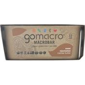 GoMacro Macrobar, Cashew Butter, Sweet Rejuvination