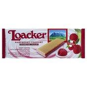 Loacker Wafers, Raspberry-Yoghurt