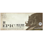 Epic Meat Bars, Wild Boar with Uncured Bacon
