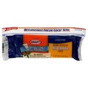 Kraft Cheese, Reduced Fat, Mild Cheddar