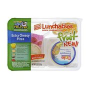Lunchables Oscar Mayer Lunchables Extra Cheesy Pizza with Fruit Lunch Combinations