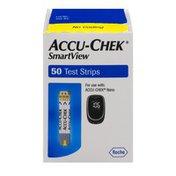 Accu-Chek Smart View Test Strips - 50 CT