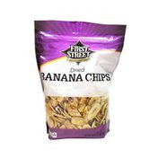 First Street Dried Banana Chips