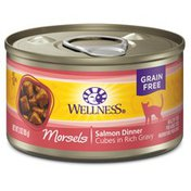 Wellness Salmon Cube Canned Cat Food