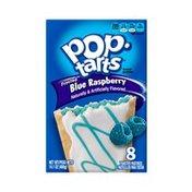 Kellogg's Pop-Tarts Breakfast Toaster Pastries Frosted Blue Raspberry