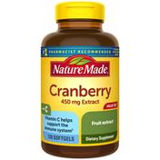 Nature Made Cranberry + Vitamin C Softgels