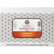 GTs Kombucha, Classic, Gingerade