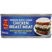 Sunny Select Chicken Breast Meat, White Chunk, Premium