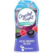 Crystal Light Acai Berry Bliss Naturally Flavored Drink Mix with Caffeine
