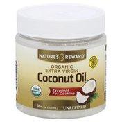 Nature's Reward Coconut Oil, Organic, Extra Virgin, Unrefined