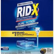 Rid-X Septic System Maintenance, Professional, Dual Action, Powder