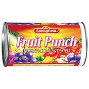 Springfield Frozen Concentrated Fruit Punch